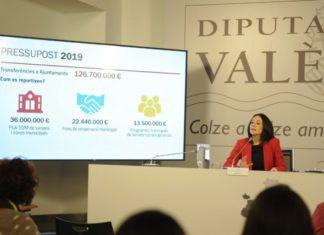 Rebeca Torró presupuestos Diputacion 2019
