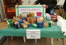 Recogida solidaria Punto Alimentos Torrent