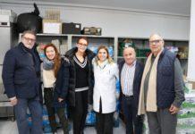 La Fundación Isabel dona 1.992 litros de leche y 1.095 de aceite al Punto de Alimentos