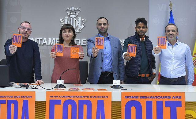 València lanza una campaña contra las agresiones sexuales en espacios de ocio