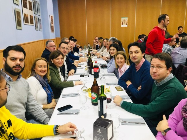 almuerzo navidad pp Alboraya Bonig, Garrigues, Bailach, Modesto Martínez