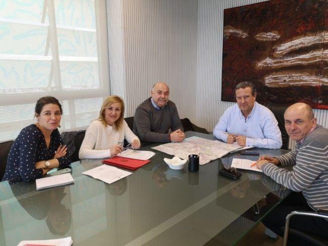 Els alcaldes de Serra, Nàquera i Massamagrell reivindiquen a la Generalitat la línia d'autobús Serra-Massamagrell
