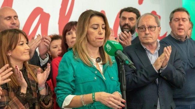 Susana Díaz PSOE Andalucía