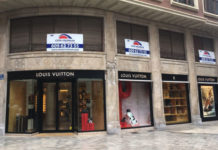 62d4cc3a8 Persecución con disparos en Valencia tras un robo en la tienda Louis Vuitton