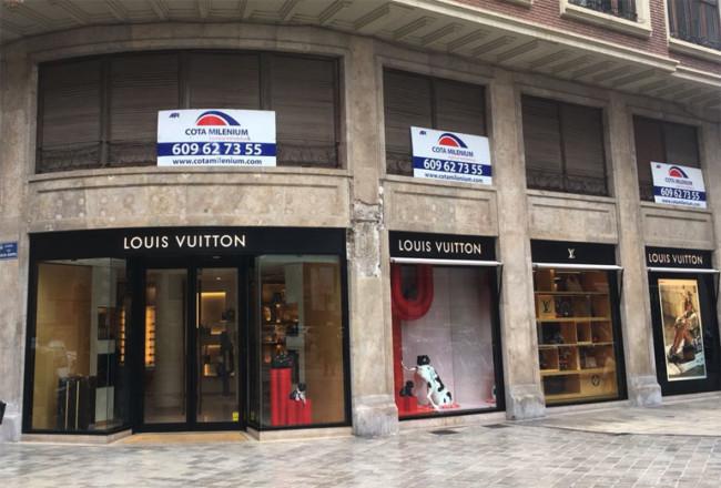94bb43630 Atraco Tienda Louis Vuitton Valencia