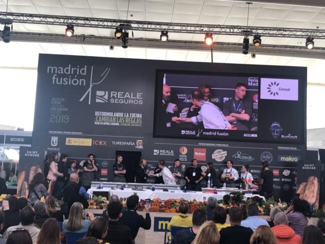 Bocadillos autor Madrid Fusión 2019