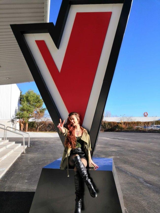 Sandra Groove de Alboraya en La Voz