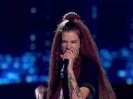 Sandra Groove en la Voz