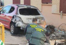 incendio coches Massamagrell y Museros