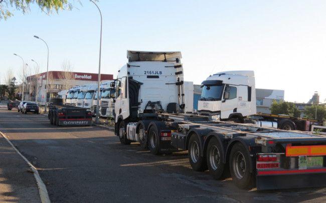 robo bateria camiones Fuente del Jarro