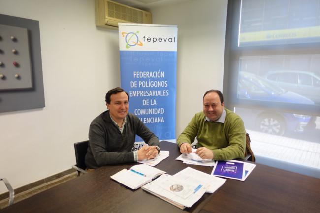reunión Comercio Alfafar Toni Milla y diego Romá