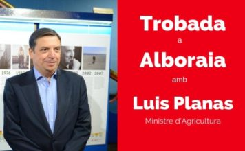 visita ministro agricultura a Alboraya