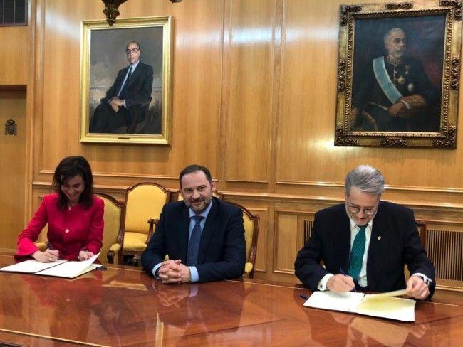 Albal firma estacion Abalos y Marí