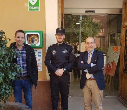 Foios desfibril·lador Policia Local
