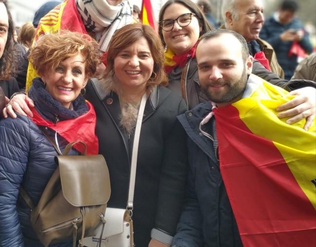 Manifestacion Madrid PP Burjassot