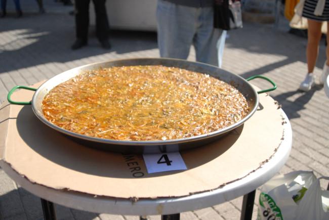 Meliana concurso paella fetge de bou