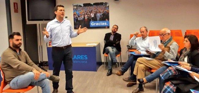 PP reunion candidatos horta