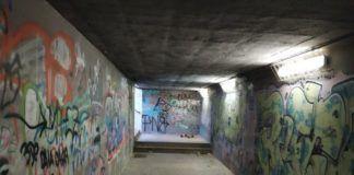 Paterna tunel bajo vias tren Campamento