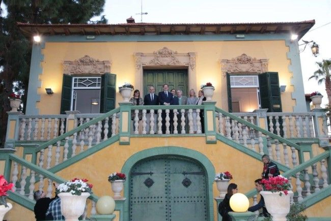 rehabilitación y utilización conjunta de Villa Amparo
