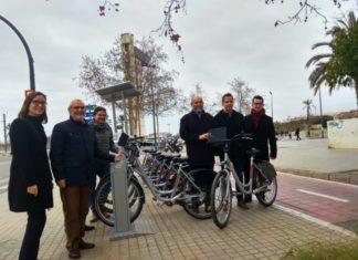 intercambiador bicicletas Horta Nord Valencia