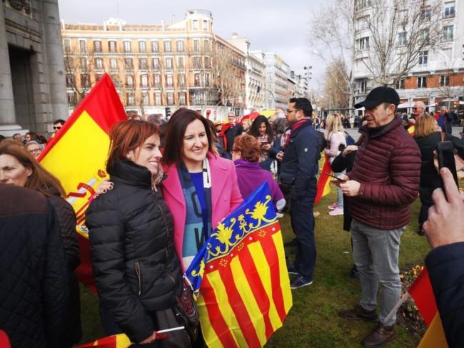 manifestacion Madrid Maria Jose Catala