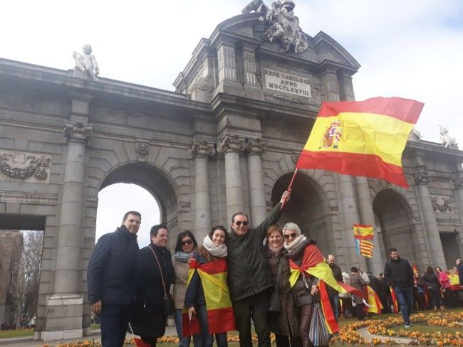 manifestacion Madrid PP Alfafar