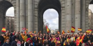 manifestacion Madrid PPCV