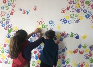 mural CEIP La Fila de Alfafar