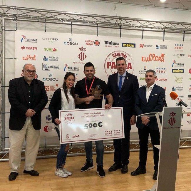 paella cullera tercer premio al grano Paterna