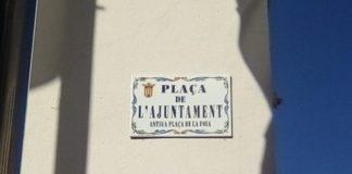 placa plaza Alfafar