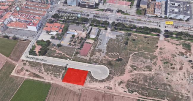 parcela cerca de Tavernes Blanques donde se ubicará el refugio de animales de Valencia