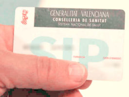 Tarjeta SIP Sanidad