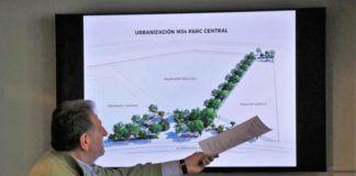 urbanización manzana parc central