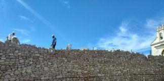Burjassot Los Silos muro reconstruido