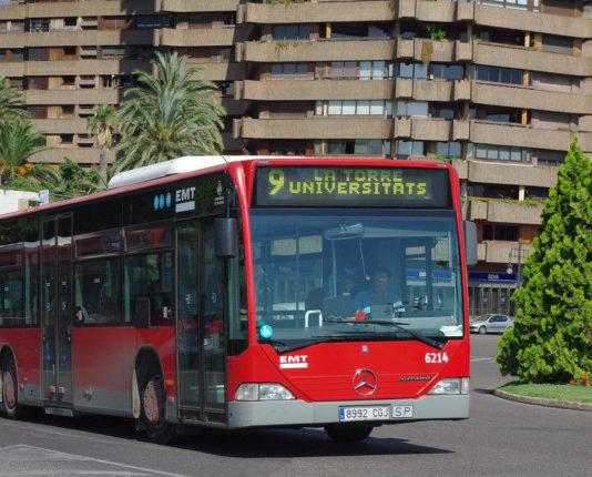 EMT Valencia linea 9 Sedaví