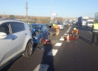accidente quart de poblet
