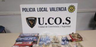 policia local valencia petardos