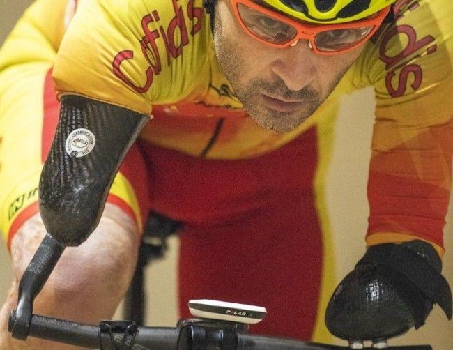 ricardo ten Mundial de ciclismo paralímpico medalla