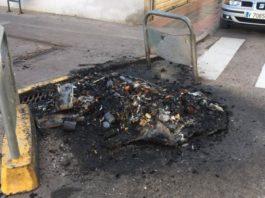 Albal quema contenedores