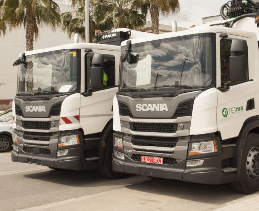 Camiones sostenibles Mancomunitat Carraixet