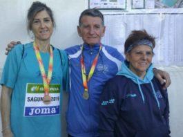 Catarroja UE medallas campeonato ruta