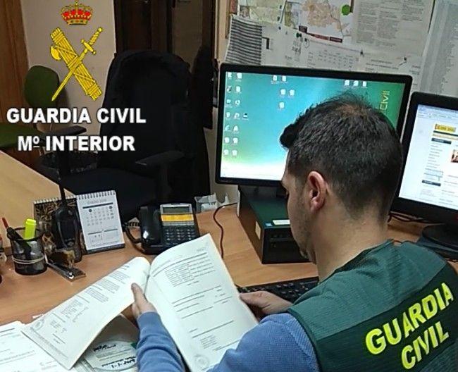 Guardia Civil estafa móviles