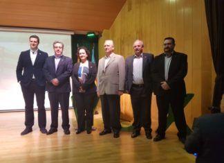 José María Llanos, 2º por la izquierda, con los Coordinadores