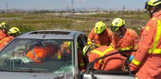 accidente coche Picanya