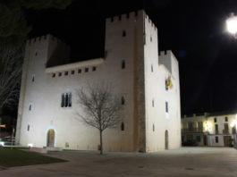 albalat dels Sorells ayuntamiento iluminacion noche