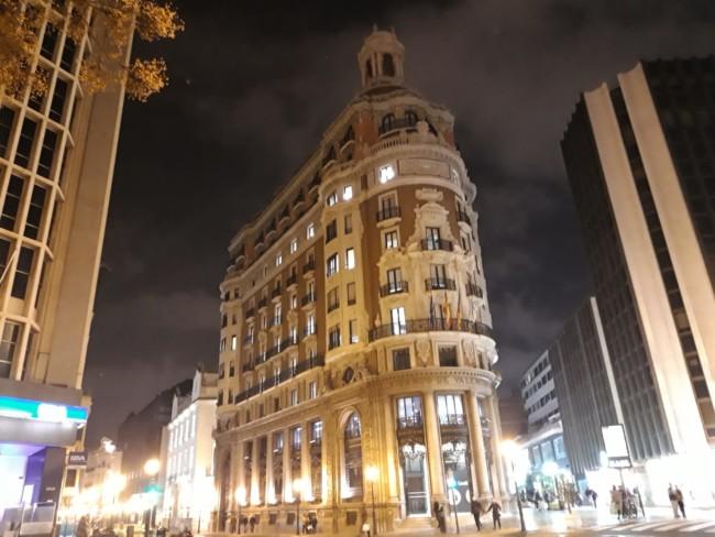 Antigua sede del Banco de Valencia en la calle Barcas, de la capital del Turia.