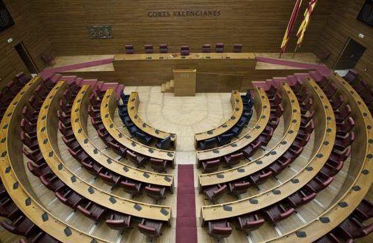 Hemiclo Corts Valencianes