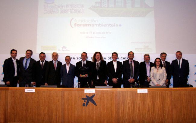 """Benidorm obtiene el premio """"Ciudad Sostenible"""" en la categoría de gestión del ciclo del agua por Dinapsis, el centro de innovación de Hidraqua"""
