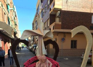 Alfafar cruz de Mayo falla La Fila