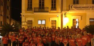Burjassot Pegada Carteles PSOE